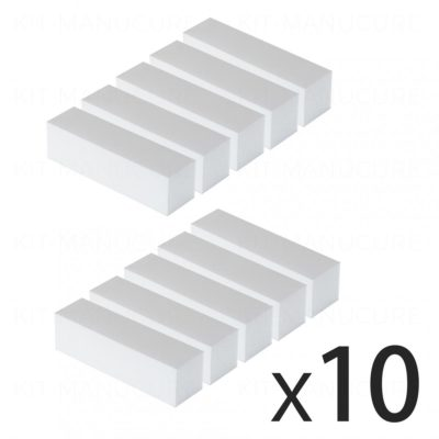 Lot de 10 Blocs blancs Lot de 10 Blocs blancs