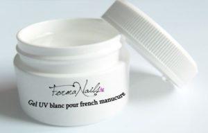gel uv blanc pour french