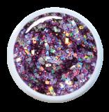 Gel UV Grosses Paillettes Violettes 15 ml Gel UV Grosses Paillettes Violettes 15 ml