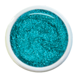 Gel UV Pailleté Turquoise 15ml Gel UV Pailleté Turquoise 15ml