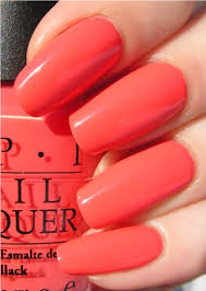ongles corail