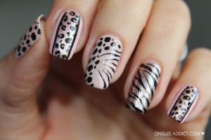 ongles leopard